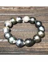 Bracelet Tahitian Pearl 2