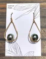 Earring Tahitian Pearl GF 3