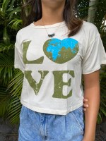 Tee Love Earth MED