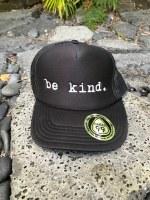 Trucker Hat Be Kind Black