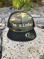 Trucker Hat Be Kind Camo