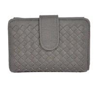 Wallet Vegan Leather Grey