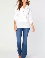Jacket XCVI Folksy White