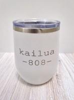 12oz Kailua 808 Wht