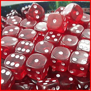 16mm D6 Gem (10) Red
