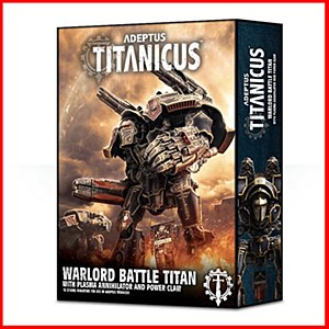 Adeptus Titanicus : The Horus Heresy : Warlord Battle Titan With Plasma Anniilator and Power Claw