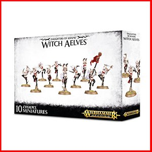 Age of Sigmar : Daughters of Khaine : Witch Aelves