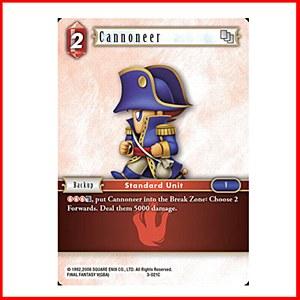 Cannoneer Foil (3-021)