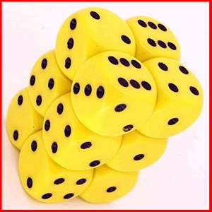 Opaque Yellow/Black16mm D6