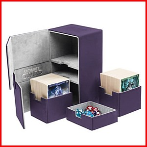 Ultimate Guard : TwinFlip Tray : 200+ Cards : Purple