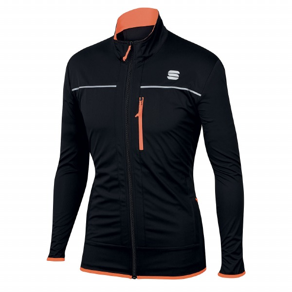 Engadin Wind Jacket Black Ora