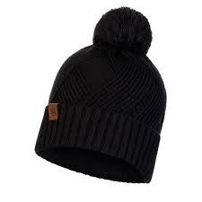 Knitted Polar Raisa Black Hat