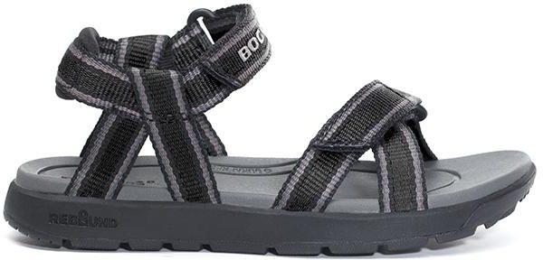 Boy's Rio Sandal Stripes Noir