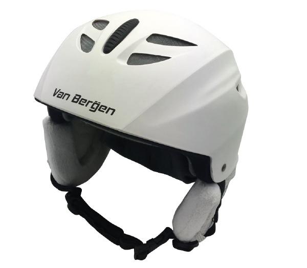 Casque de ski senior Blanc M/L