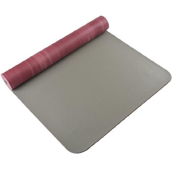 Eco Yoga Mat Prune Rouge