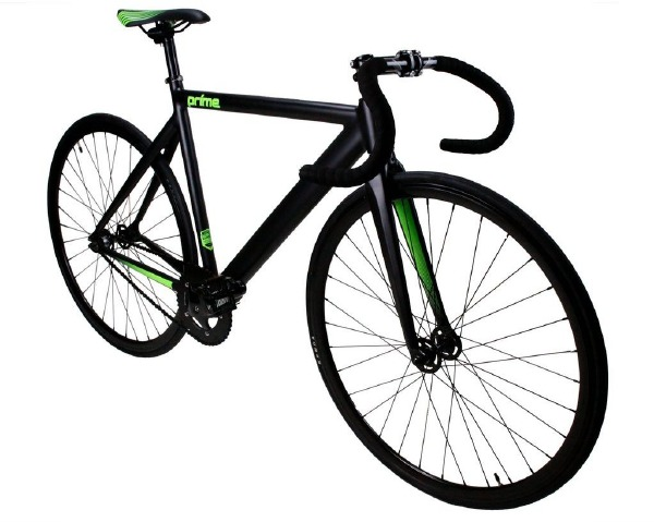 Fixie Prime Black Green 50cm