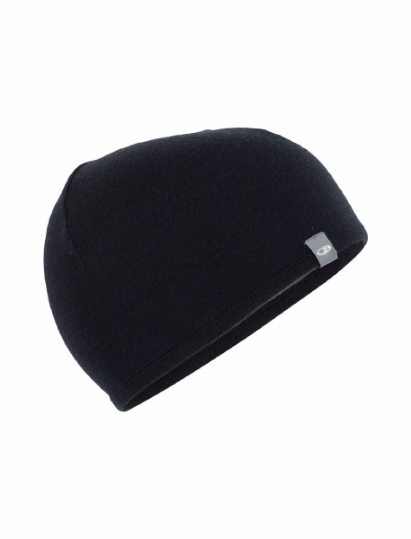 Pocket Hat Black Gridstone