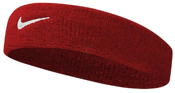 Swoosh Headband Rouge/Blanc