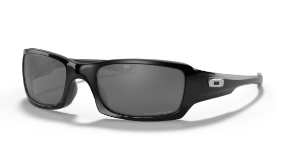 Fives Squared Black Polarized