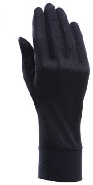 Silk Liner Mens Glove Noir XL