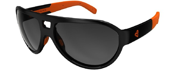 Hiline Black Orange Anti Fog