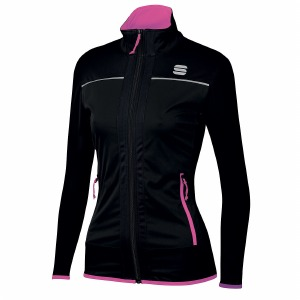 Engadin W Wind Jacket Black X