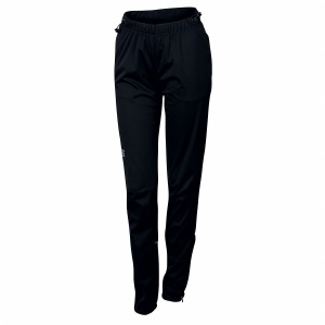 Engadin W Wind Pant Black XS