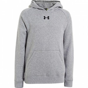 Team Fleece Hoody Jr TGray S