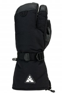 Back Country 3 Fingermitt Noir