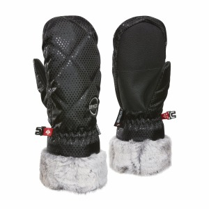 La Canadienne JR Mitt Black Do
