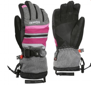 The Yolo JR Glove Grey Framboi