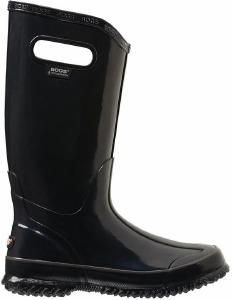 Rain Boot Solid Noir 6