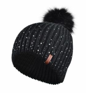 Tuque Polar Pompom Noir