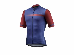Podium SS Jersey Navy/Red XL