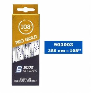 Lacets Blanc/Marine 108''
