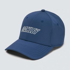 6 Panel waved hat Bleu L/XL