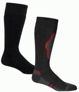 The Brave twin Pk Sock Bk/Ch/R
