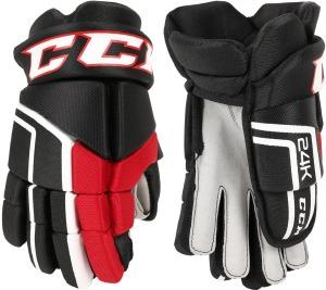 24K KFS Glove Bk/Red/White 15