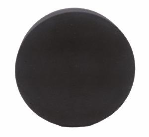 Rondelle molle noire
