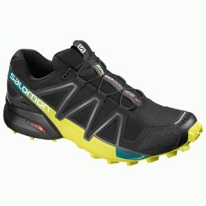Speedcross 4 Noir/Sulfure 8.5