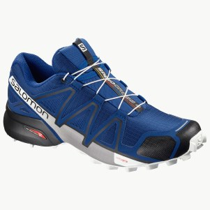 Speedcross 4 Bleu/Noir/Blanc 9