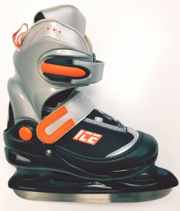 Patins Ajustable BlackOrange