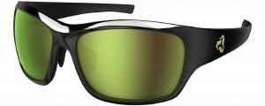 Khyber Black-Gold Green Lens