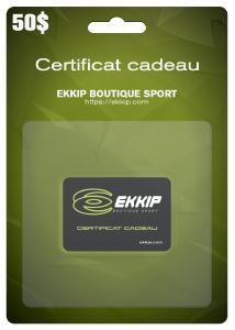 Certificat Cadeau Ekkip 50$