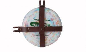 Porte Frisbee en Brun