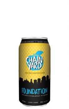 Chain Yard Foundation Cider