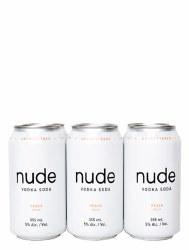 Nude Vodka Soda Peach 6 Pack