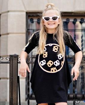 Pretzel Dress Black 8