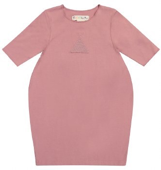 Bubble Dress Mauve 10