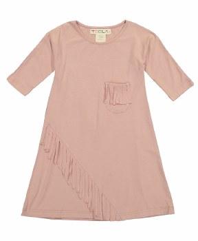 Fringe Dress Blush 14